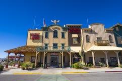 Histroic baru kasyno w Pahrump Nevada i budynek NEVADA, PAŹDZIERNIK - 23, 2017 - PAHRUMP - Obraz Stock