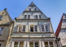 Histroical dom w Schnoor okręgu Bremen zdjęcia stock