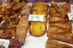 Hiszpańscy ciasta dla sprzedaży zdjęcia royalty free