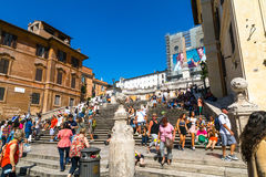 hiszpańscy kroków Zdjęcia Royalty Free