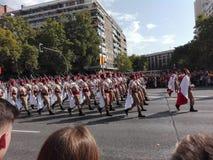 Hiszpańscy oddziały wojskowi obraz stock