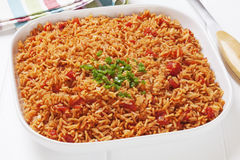 Hiszpańscy ryż Fotografia Stock