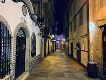Hiszpańska noc może być różna obrazy stock