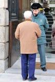 Hiszpańska straż obywatelska w Madryt Hiszpania Zdjęcie Royalty Free