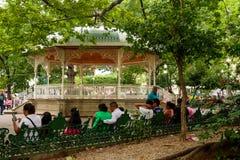 Hiszpański bandstand zdjęcia stock