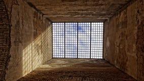 Hiszpański dungeon zdjęcie royalty free