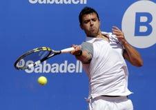 Hiszpański gracz w tenisa Iñigo Cervantes Zdjęcie Royalty Free