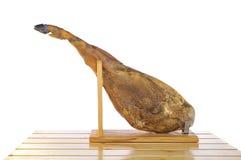 Hiszpański iberian baleron. obraz royalty free