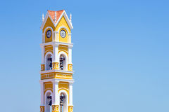 Hiszpański kościół, Meksyk Zdjęcie Stock