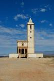 Hiszpański kościół na plaży Fotografia Stock