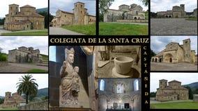 Hiszpański kościół w castañeda Fotografia Royalty Free