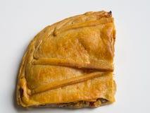 Hiszpański kulebiak odizolowywający fotografia royalty free