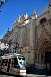Hiszpański miejsce przeznaczenia, Seville Obrazy Royalty Free