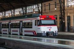 Hiszpański pociąg pasażerski Fotografia Royalty Free