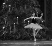 Hiszpański Princess drugi aktu cukierku po drugie śródpolny królestwo - Baletniczy dziadek do orzechów Zdjęcia Stock
