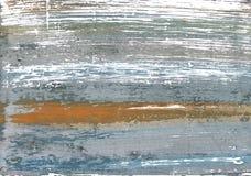 Hiszpański szary abstrakcjonistyczny akwareli tło Obraz Royalty Free