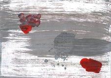 Hiszpański szary abstrakcjonistyczny akwareli tło Obrazy Stock