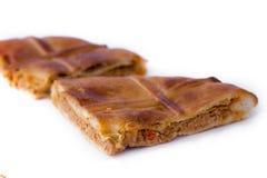 Hiszpańszczyzna faszerujący kulebiak Obrazy Stock