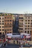 Hiszpańszczyzna kroków widok fotografia stock