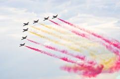 Hiszpańszczyzny grupują Patrulla Aguila Zdjęcie Stock