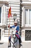 Hiszpańszczyzny Royal Palace chronią Zdjęcia Stock