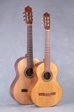 Hiszpańska klasyczna gitara Obrazy Royalty Free
