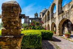 Hiszpańska misja San Jose, Teksas Obraz Stock