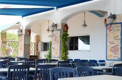 Hiszpańska restauracja Obrazy Royalty Free