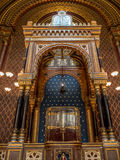 Hiszpańska synagoga w Praga Zdjęcie Royalty Free