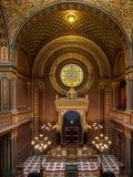 Hiszpańska synagoga w Praga Obraz Royalty Free