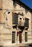 Hiszpański dom miejski, Aguilar de los angeles Frontera Zdjęcie Stock