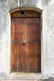 Hiszpański drzwi Obraz Royalty Free