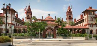 Hiszpański Dziejowy Buduje St Augustine Floryda Zdjęcia Stock