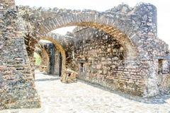 Hiszpański fort Nikaragua Obrazy Royalty Free