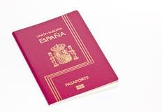 Hiszpański Paszport Zdjęcia Stock
