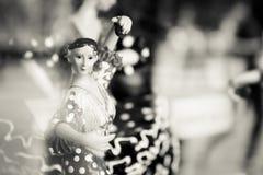 Hiszpański tancerza standardu mannequin Obrazy Royalty Free