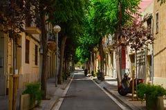 Hiszpański uliczny Barcelona Zdjęcia Stock