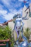 Hiszpański wioski sztuki centrum Fotografia Royalty Free