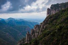 Hiszpańszczyzna krajobraz Zdjęcia Royalty Free