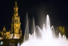 Hiszpańszczyzna Kwadrat Obraz Royalty Free