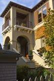 Hiszpańszczyzna stylu dom Seattle WA. Fotografia Stock