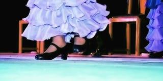 Hiszpańszczyzna taniec Zdjęcia Royalty Free