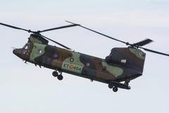 Hiszpańszczyzny Boeing Chinook wojsko Zdjęcie Stock