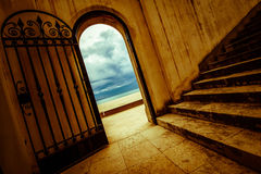 Hiszpańszczyzny brama Tamarit Obrazy Royalty Free