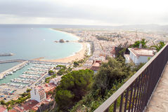 Hiszpania, brava, wybrzeże/costa/ Fotografia Stock