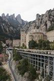Hiszpania. Catalonia. Montserrat. Obraz Royalty Free