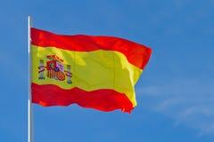 Hiszpania flaga Zdjęcie Royalty Free