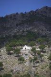 Hiszpania kościół na wzgórzu Zdjęcia Stock