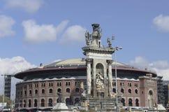 Hiszpania kwadrat Fotografia Royalty Free