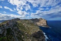 Hiszpania Majorca Nakrywający De Formentor obraz royalty free